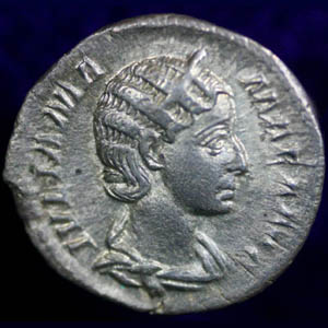 Denarius of Julia Mammea
