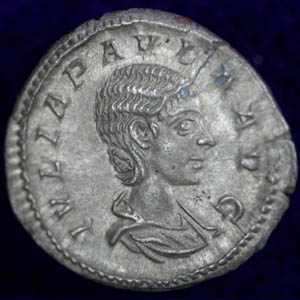 Denarius of Julia Paula