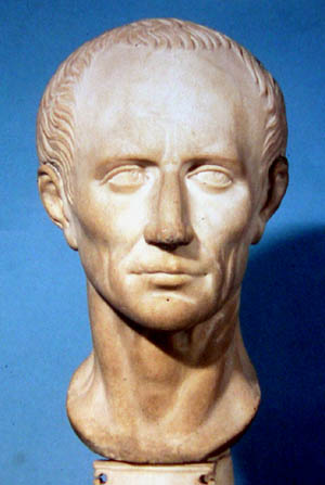British museum bust of Julius Caesar