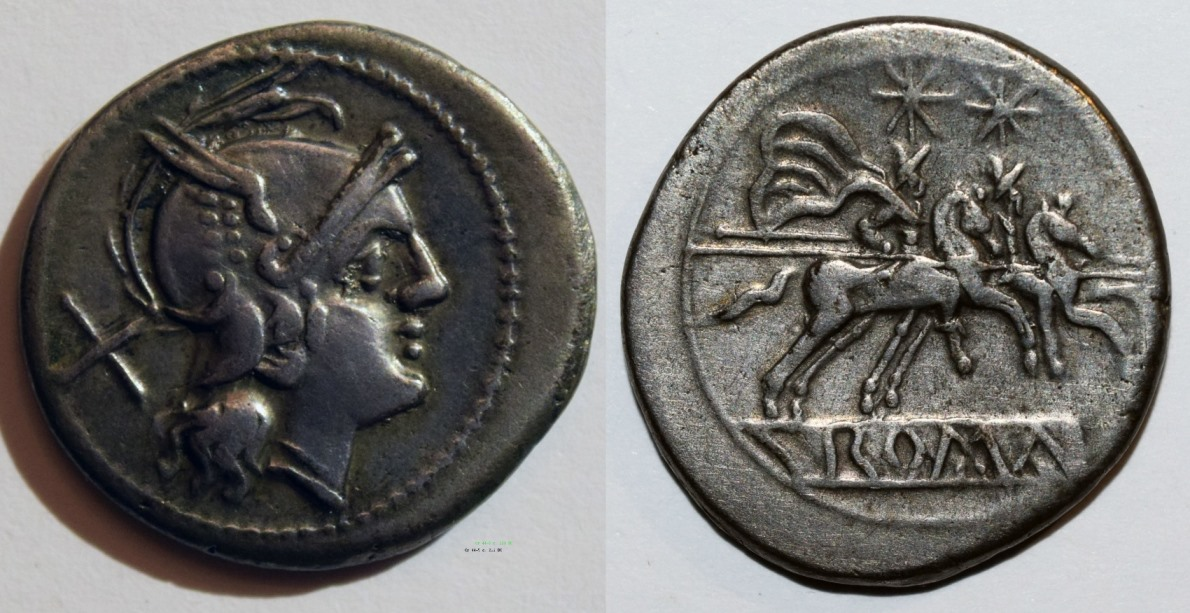 Anonymous Denarius of 211 BCE