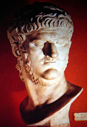 Bust of the Emperor Nero