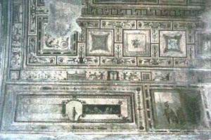 Scenes from the Domus Aurea illustrate the 4th Pompeian style