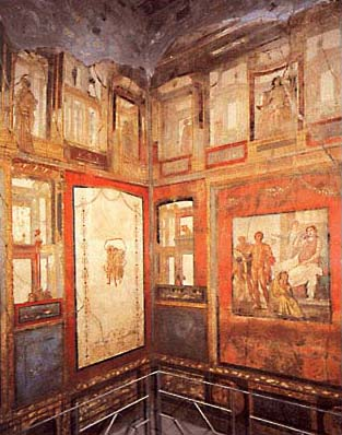 Ixion Room, House of the Vettii, Pompeii