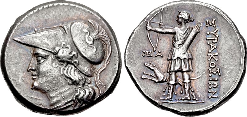 Litra of the Fifth Syracusan democracy, 214-212 BCE