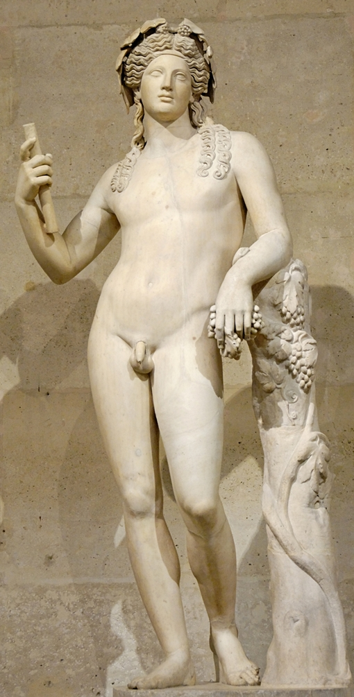 The statue of Dionysos