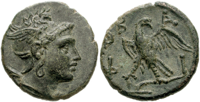 Macedon tetradrachm with head of Perseus