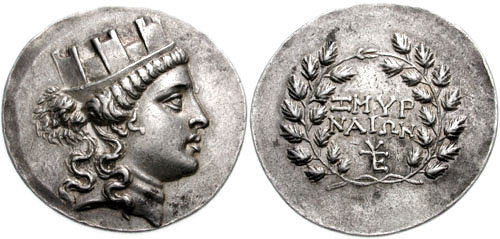 Kyzikos electrum hekte with head of Perseus