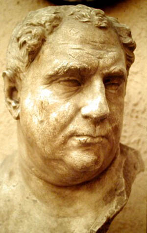 Bust of Emperor Vitellius